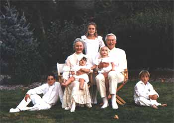 1994 Bette and Jack with their grandchildren